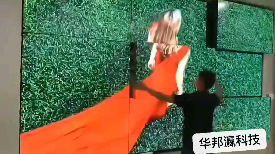 55 Inch Thương Mại Phổ Biến Hiển Thị ĐÃ LÀM Bảng Điều Khiển Bức Tường Video Với Bộ Điều Khiển