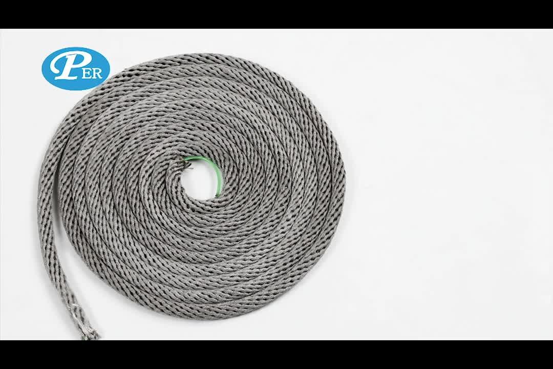 Customized 12 stand climbing rope net indoor playground crocheted climbing net
