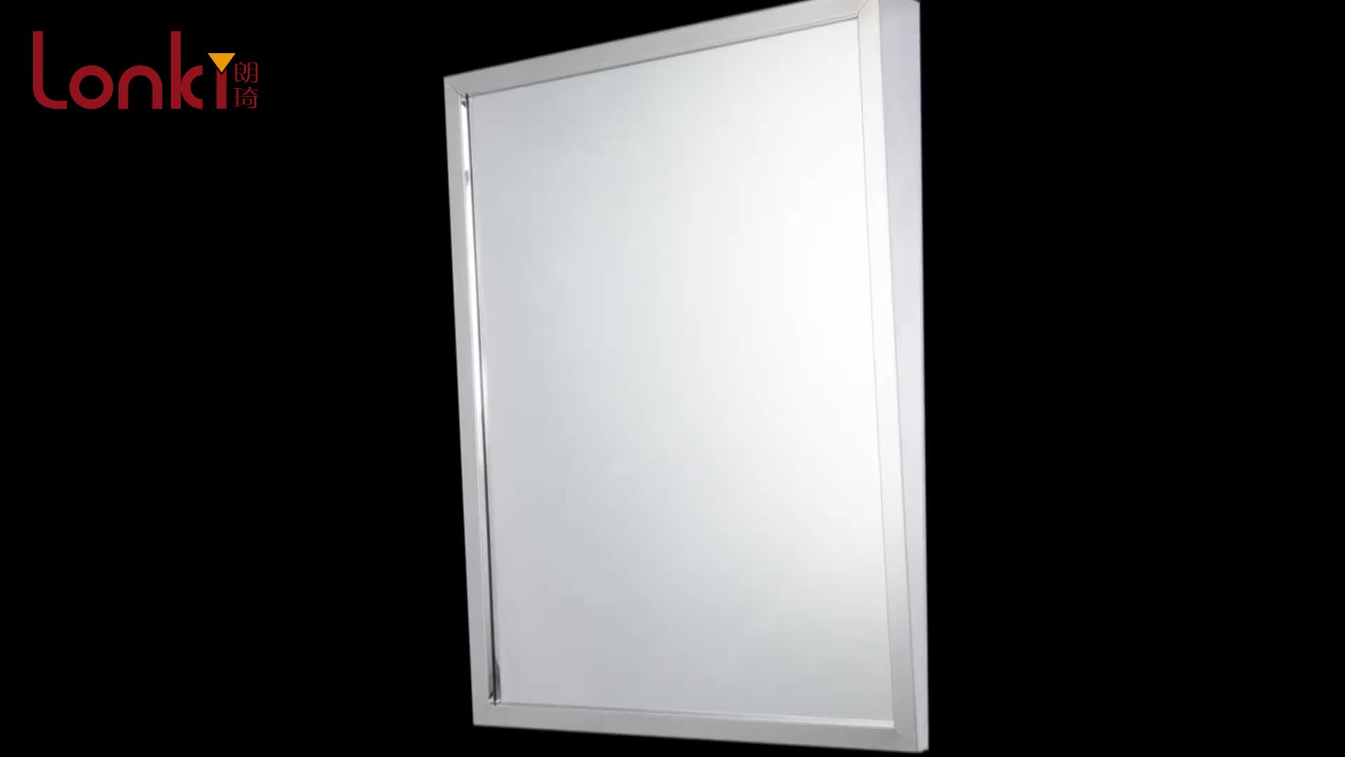 bathroom led mirror light resin frame mirror 24930