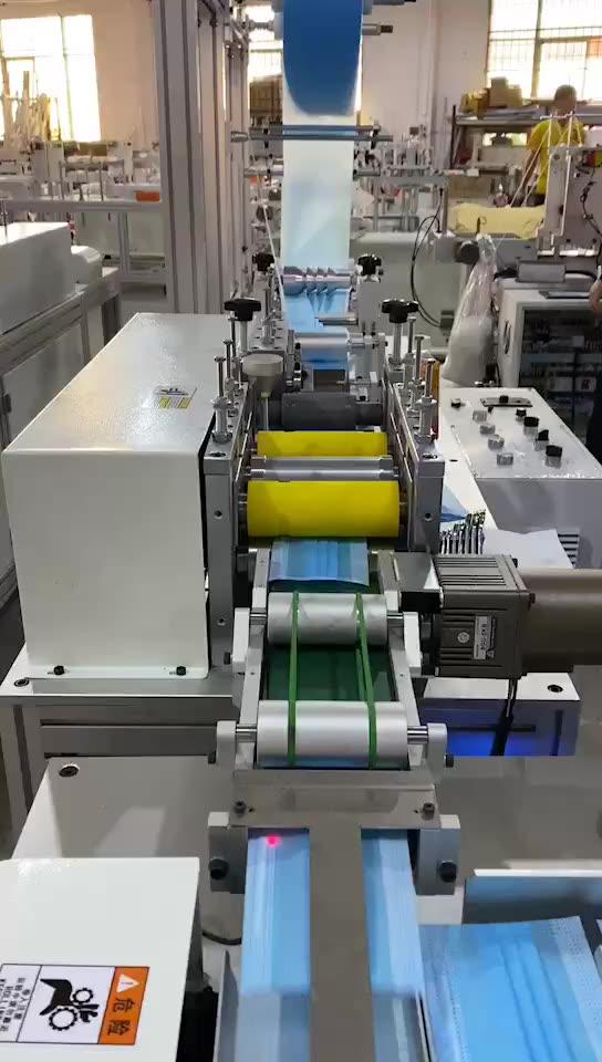 Máquina de fabricación de mascarillas faciales, máquina automática para fabricar mascarillas