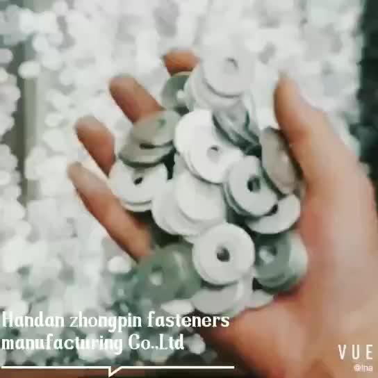 Zinc Plated Flat Washers with good quality and low price Din125A