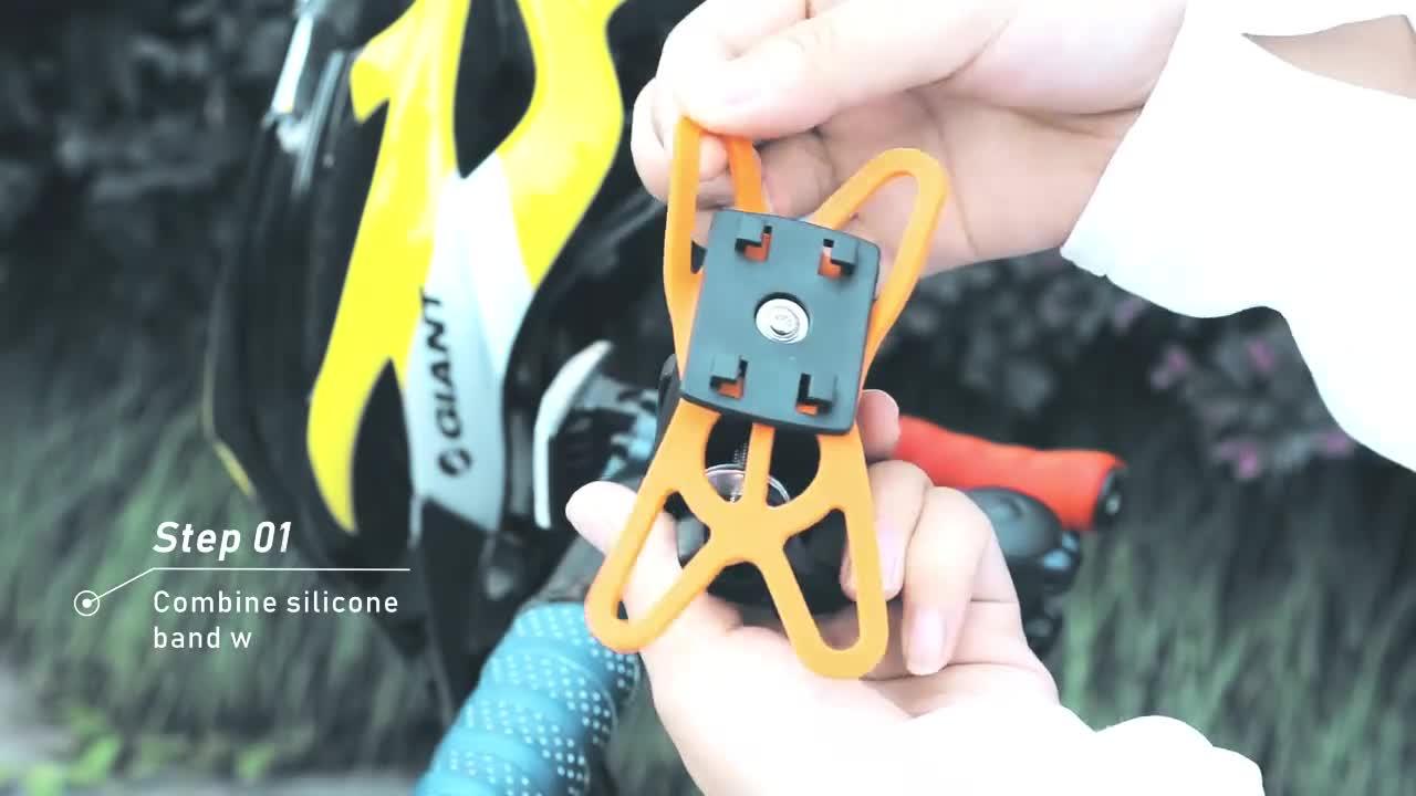 Универсальный автомобильный Велосипед Мотоцикл Руль держатель Мобильный сотовый телефон держатель с силиконовой поддержкой для смартфона