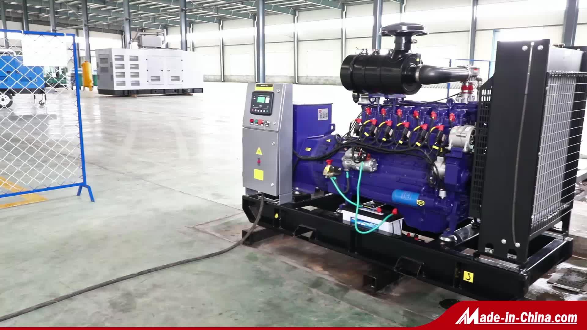 Biogas Generatore Elettrico Set Prezzo 10kw 20kW 50kw 100kW 200kW 1mW per Bio Gas Centrale Elettrica Generazione