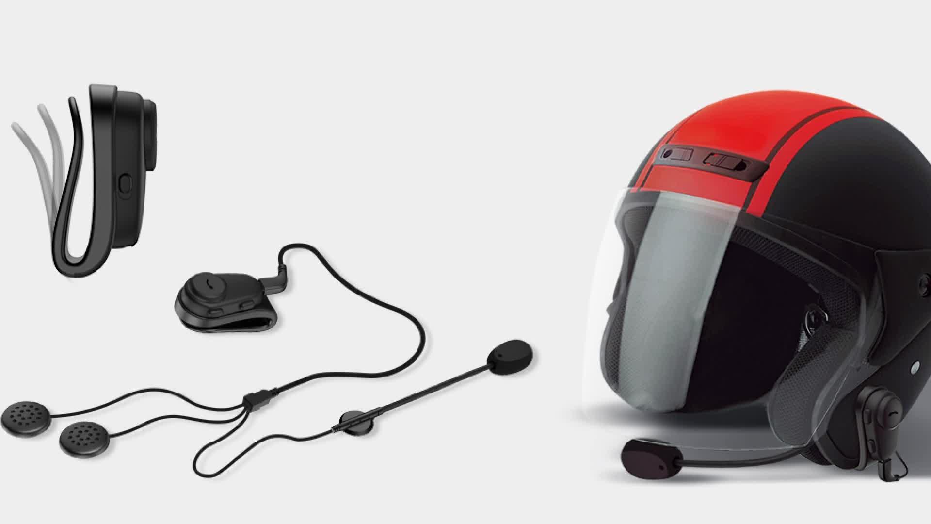 Purorigin Moto Casque Bluetooth Casque Bluetooth Casque Stéréo Casque