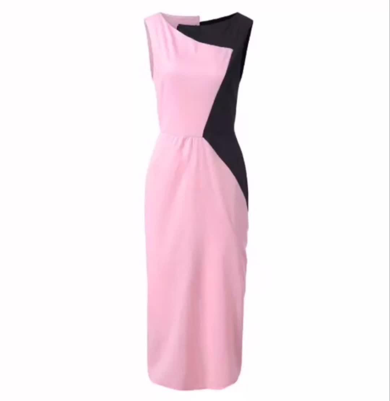 Q3431 Nuovo di Modo Prezzo A Buon Mercato Logo Personalizzato Delle Donne del Vestito Aderente