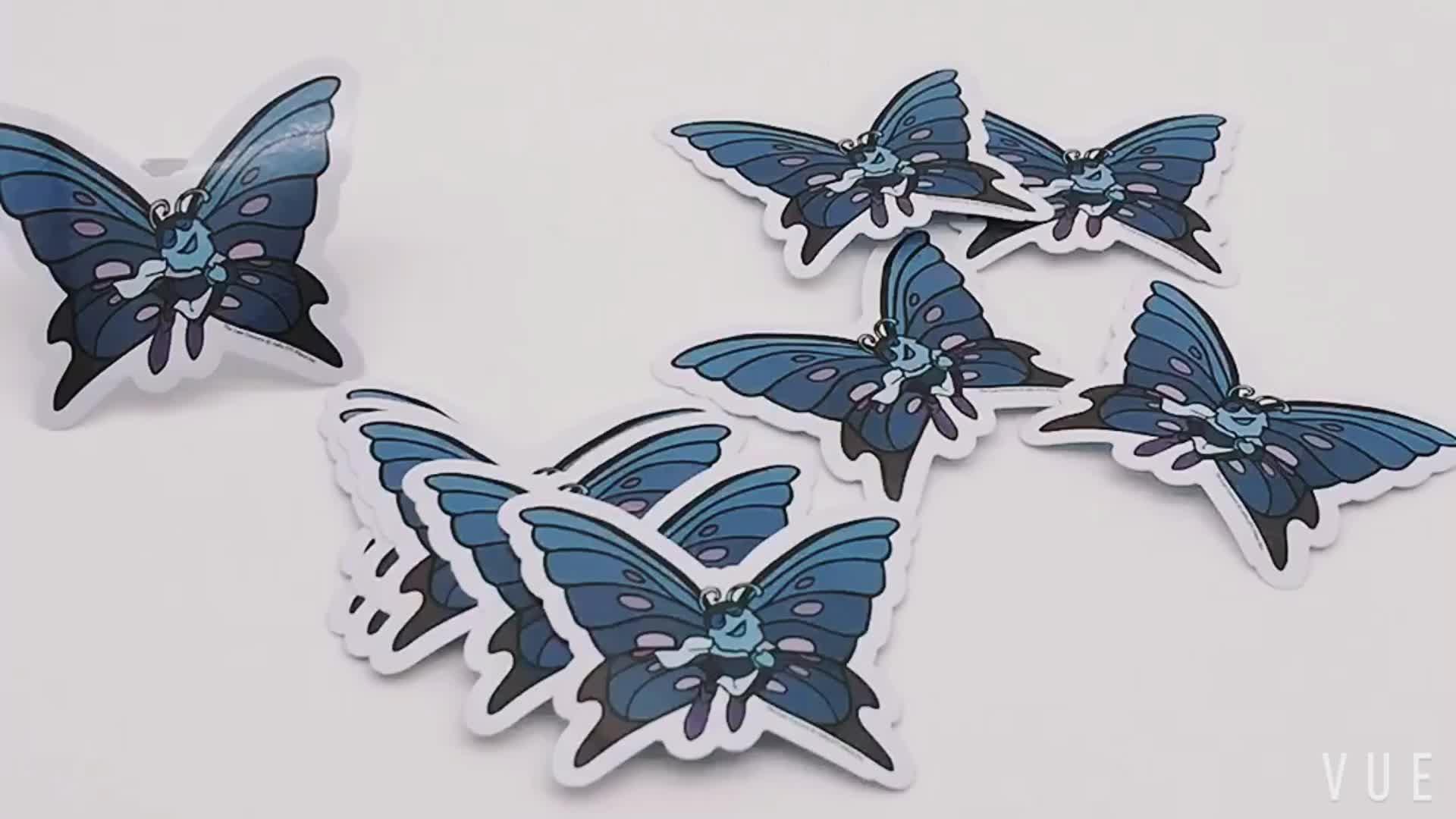 Custom Die Cut PVC Vinyl Business Sticker Label For Outdoor & Promotion