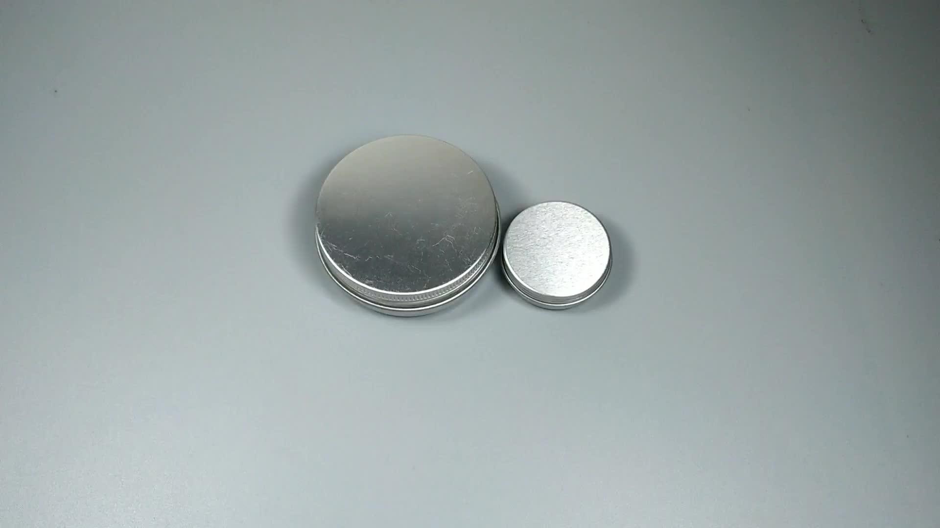 Fabrika toptan hızlı teslimat stok 1oz2oz3oz4oz5oz8oz alüminyum küçük teneke
