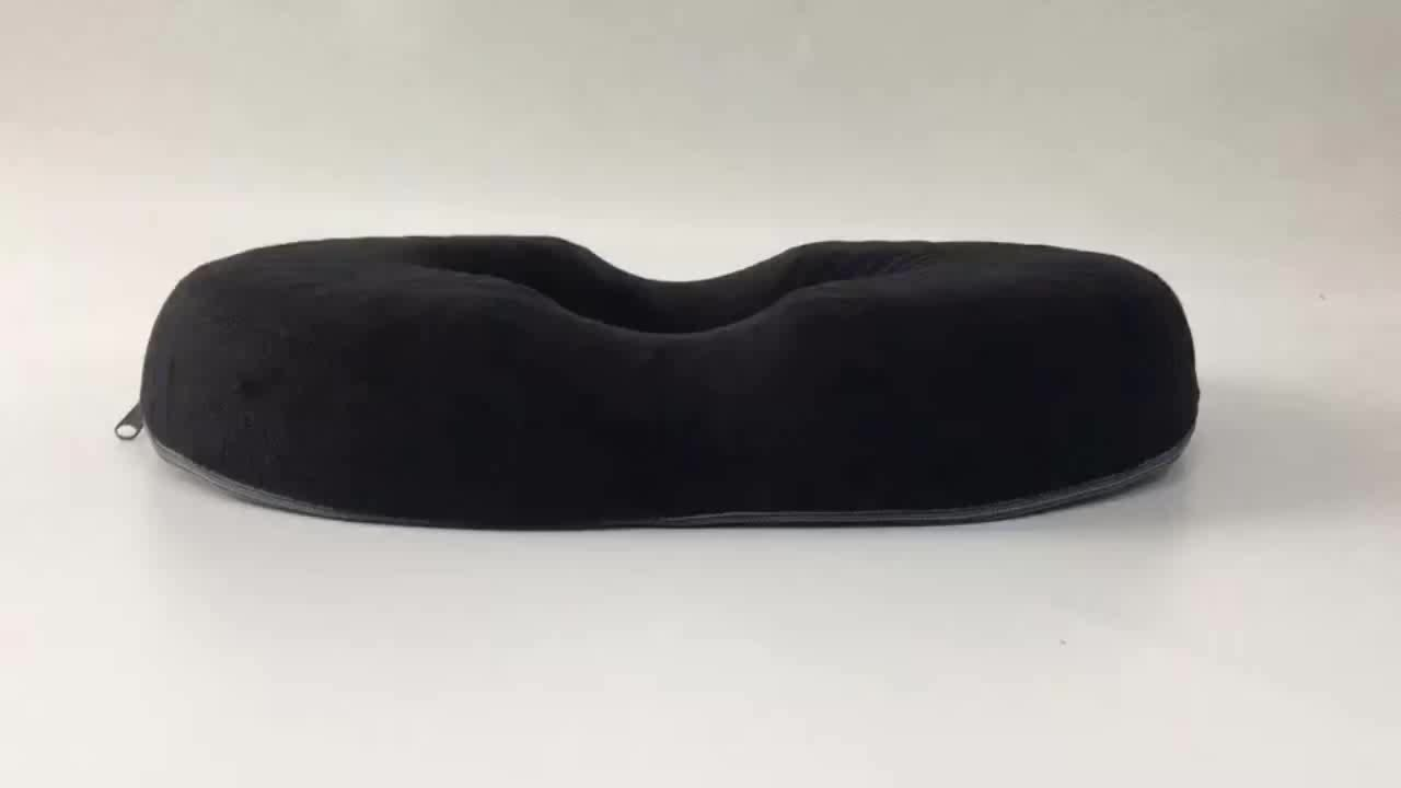 Comfort Donut Coccyx Seat Cushion For Home, Office, Wheelchair Or Car