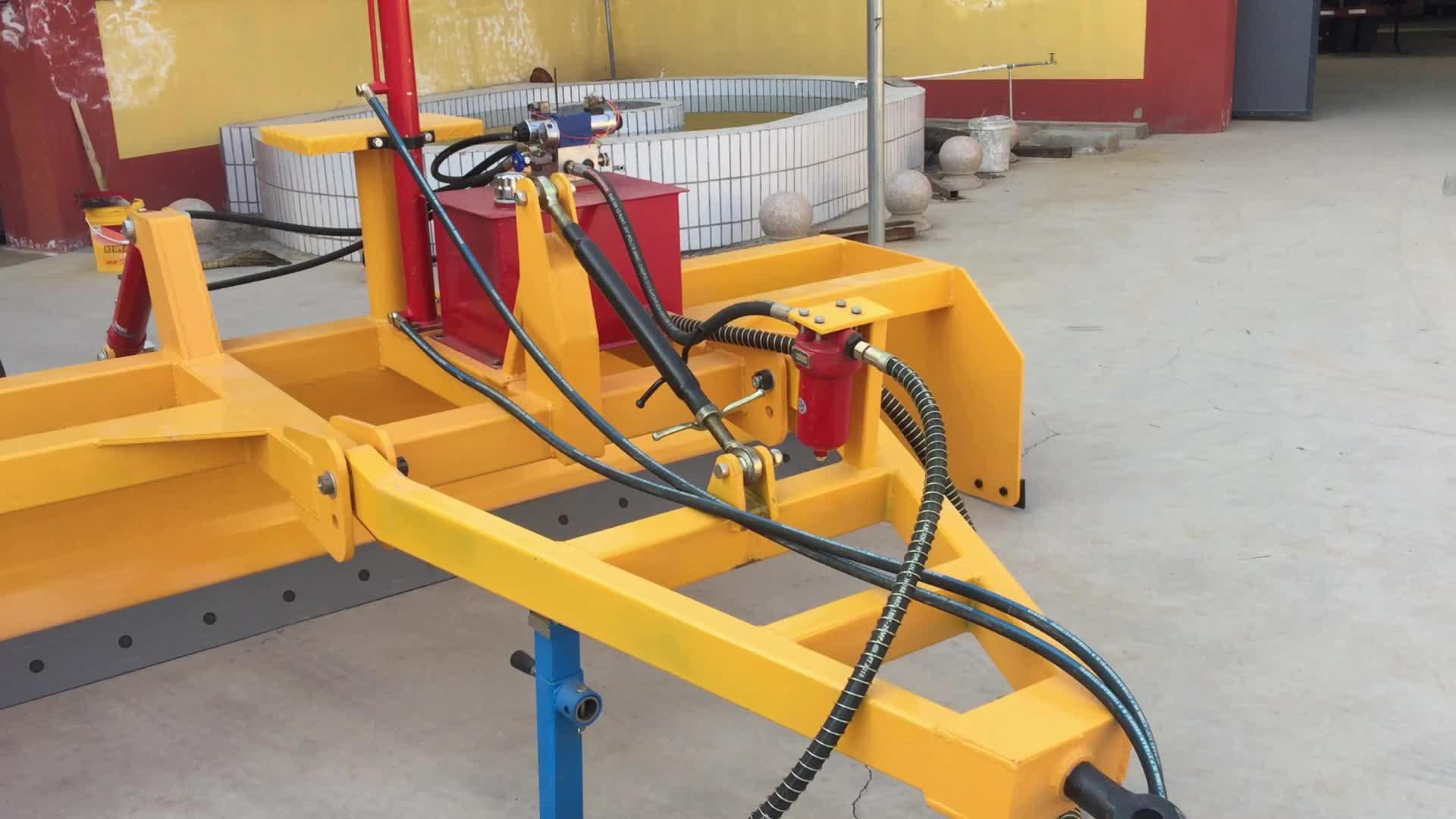 Laser học sinh lớp nông nghiệp thiết bị cơ khí scraper