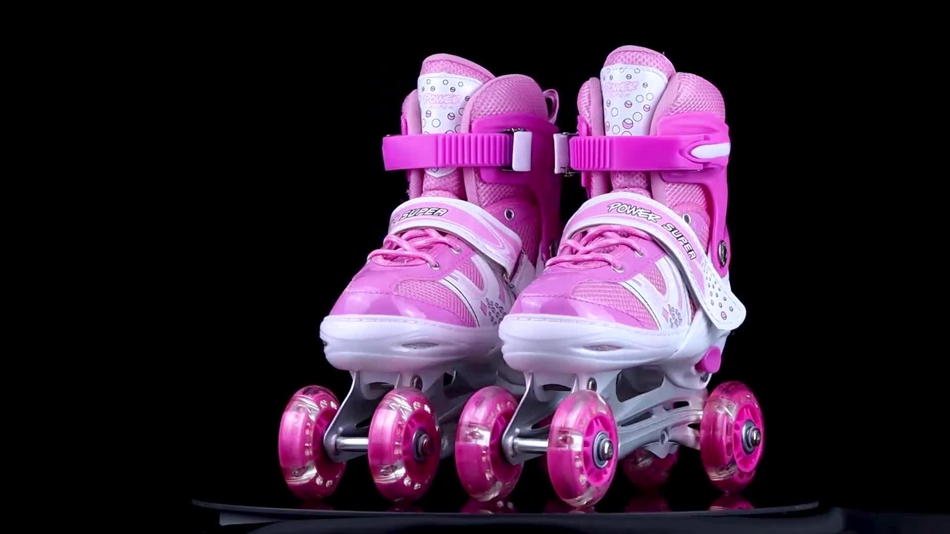 PAPAISON preço barato patins patins em linha sapatos de skate patins quad para crianças