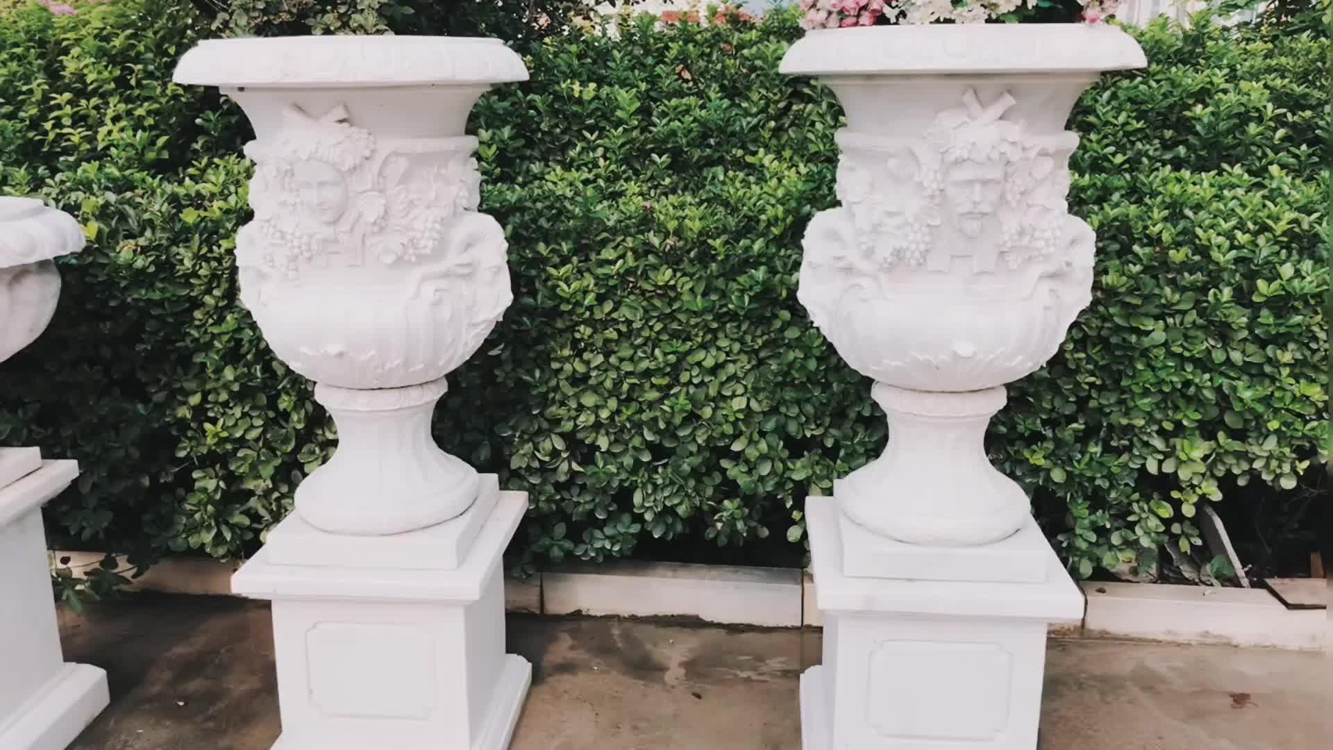 hand carved marble flower pots for sale buy flower pots