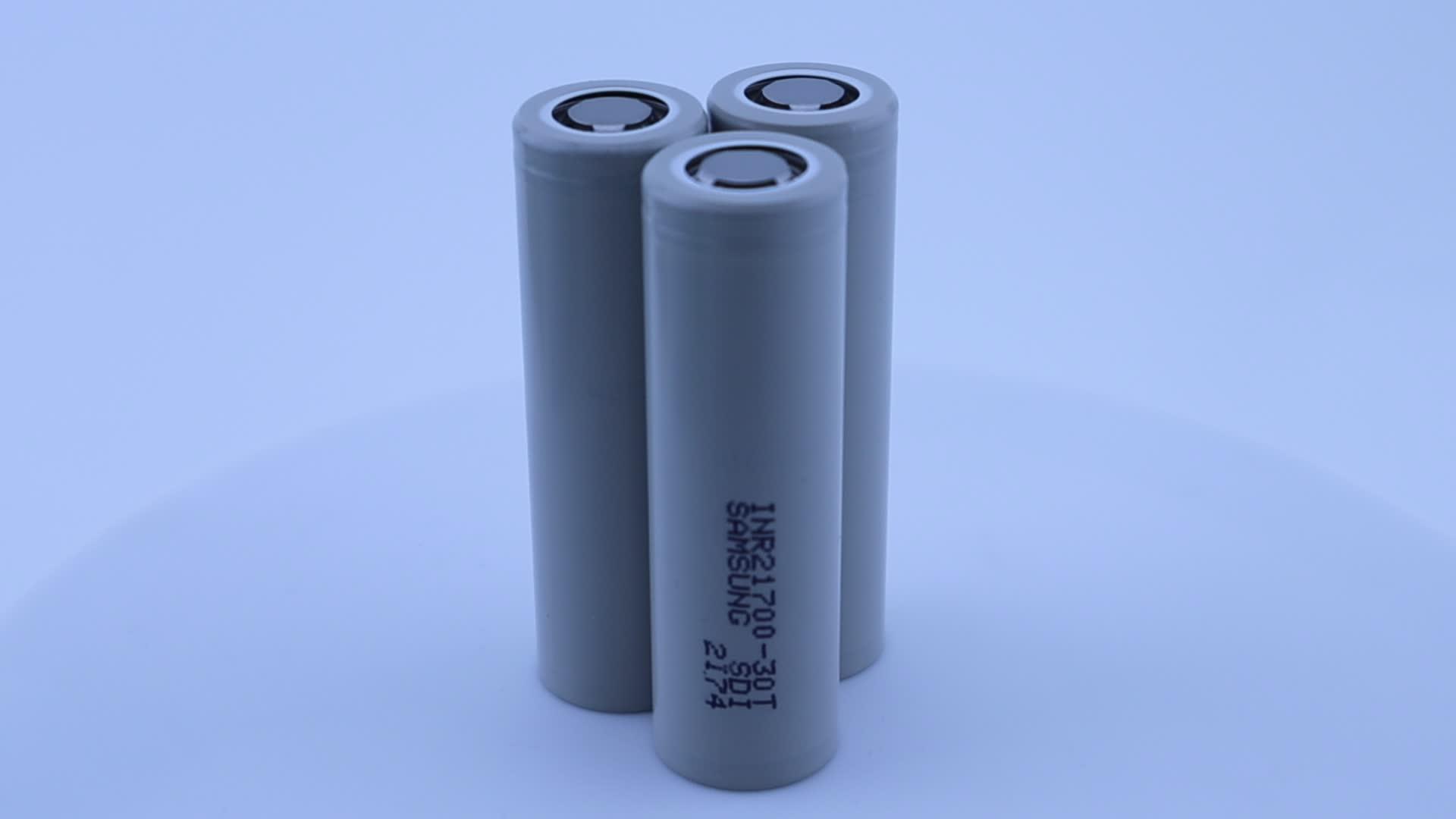 Big stock for 30T 21700 3000mah 3.7V liion battery new vape battery