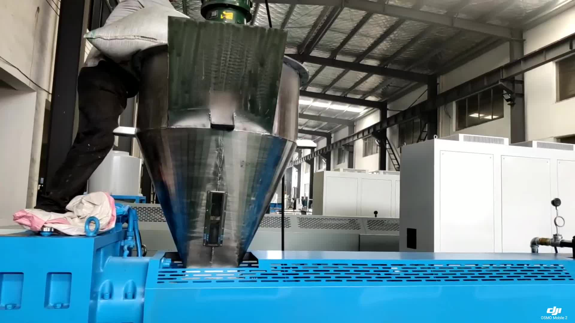 twin-screw plastic granule strand pelletizer granulator