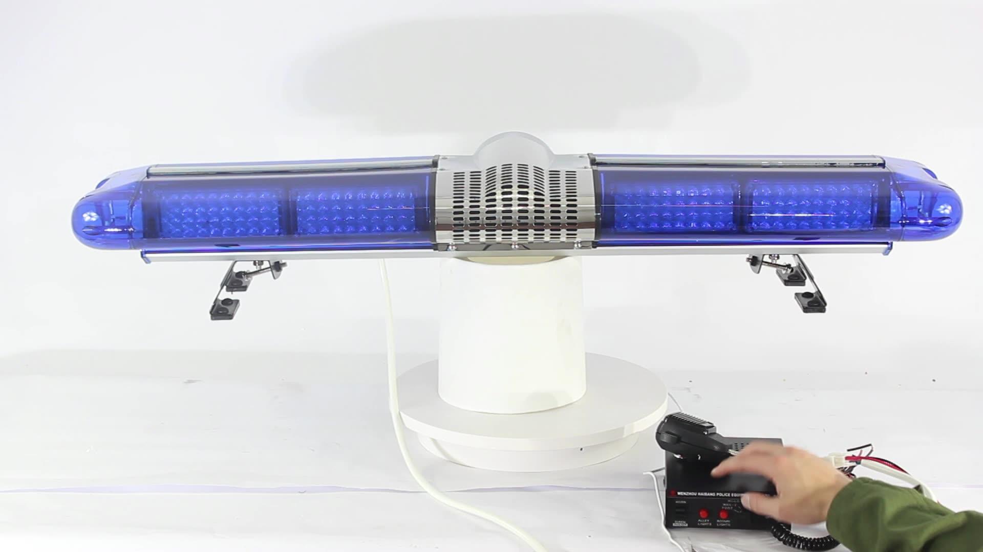 Fire Engine Red LED Light Bar Fire Truck Roof Top Led Security Car Warning Strobe Lightbar