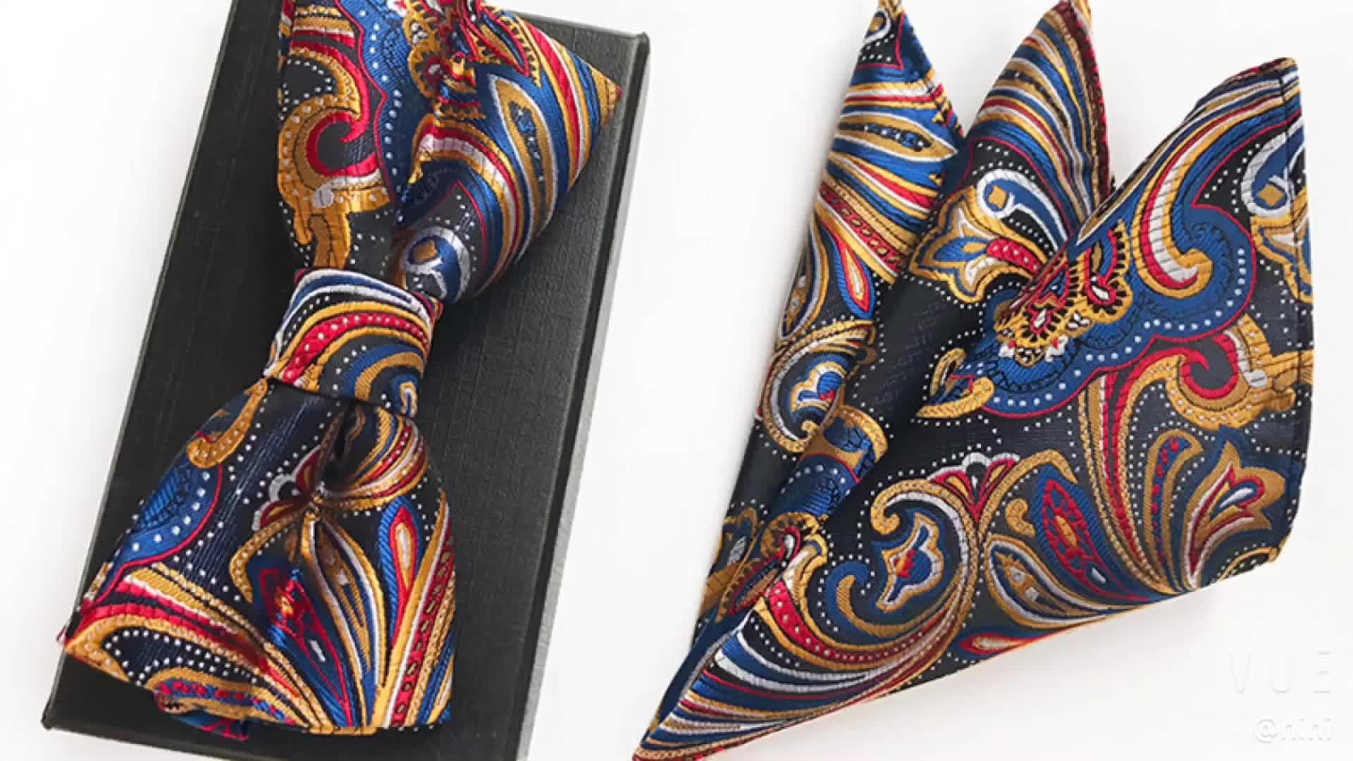 Mode Polyester Noeud papillon homme ensemble