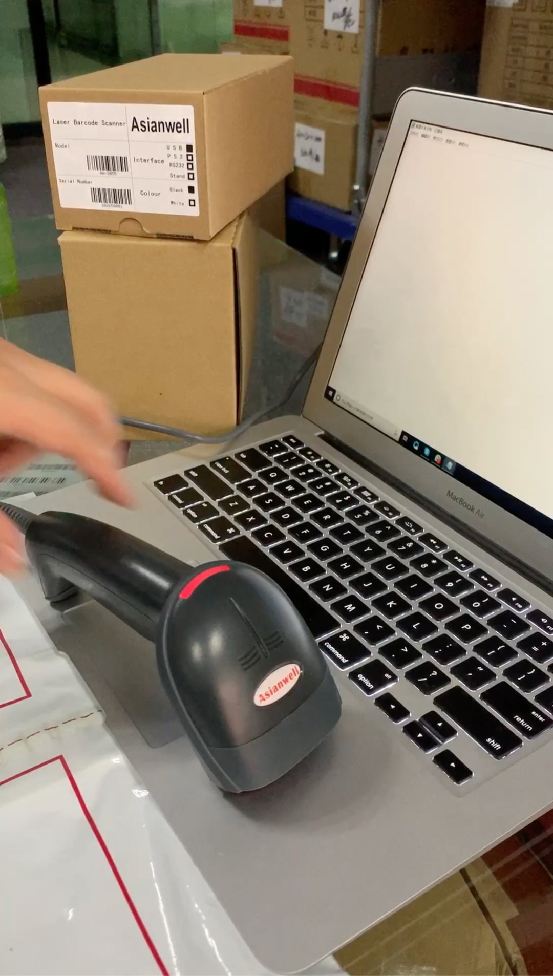 Low price china mirco android barcode scanner in scanners
