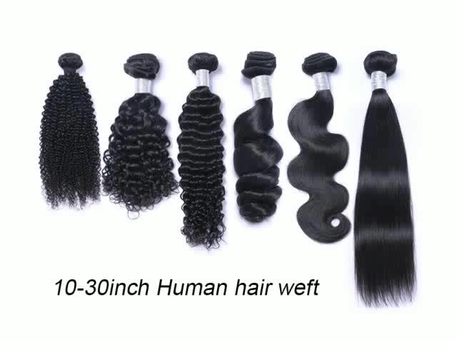 Wholesale brazilian human hair sew in weave, virgin natural remy cheap human hair extensions, names of 100 human hair extension