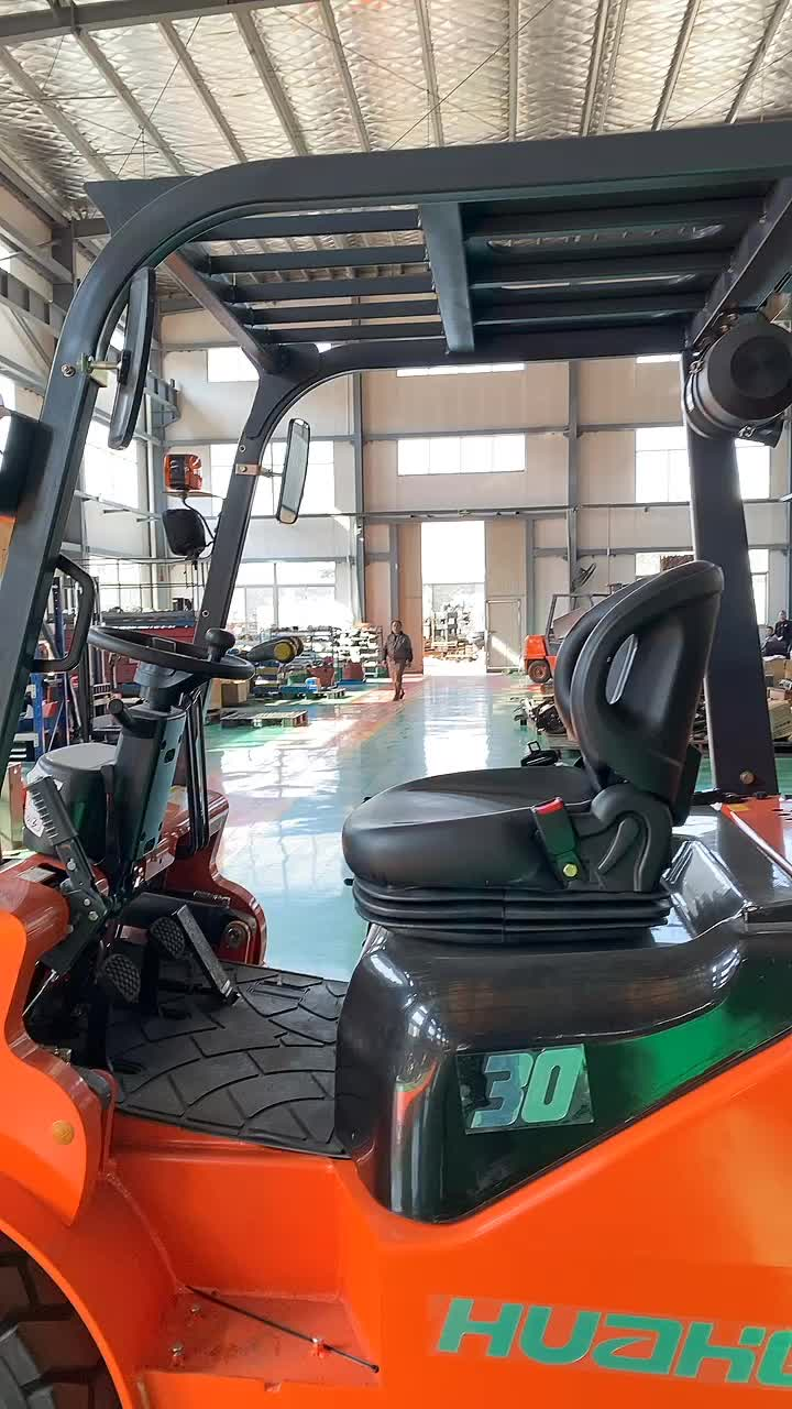 HUAHE 3.5 Ton HH35 Hydraulic Forklift with Sideshift