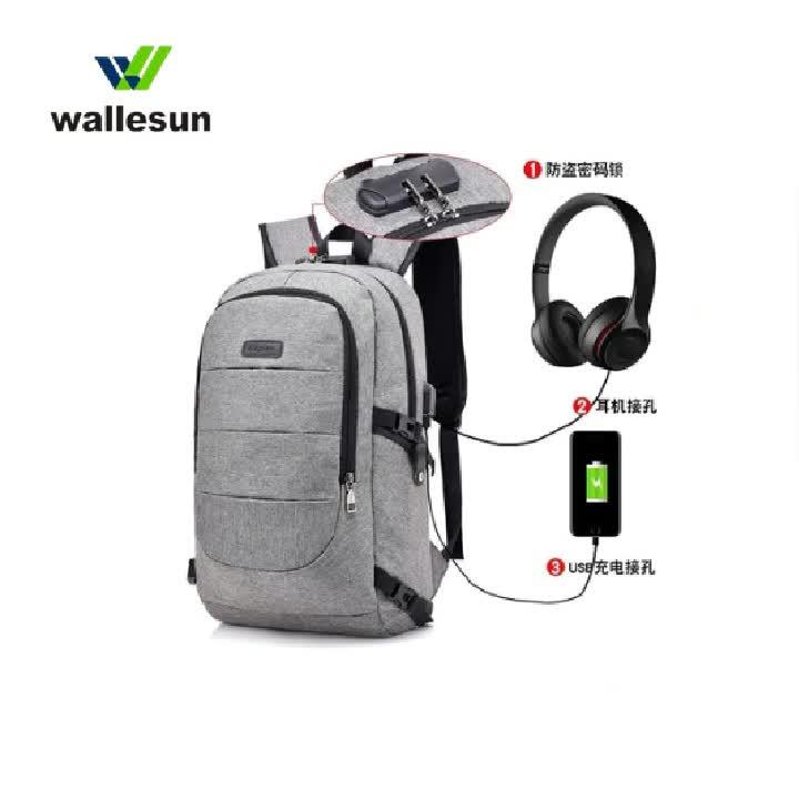 Promosyon orta dizüstü sırt çantası, bilgisayar korumak okul sırt çantası çanta