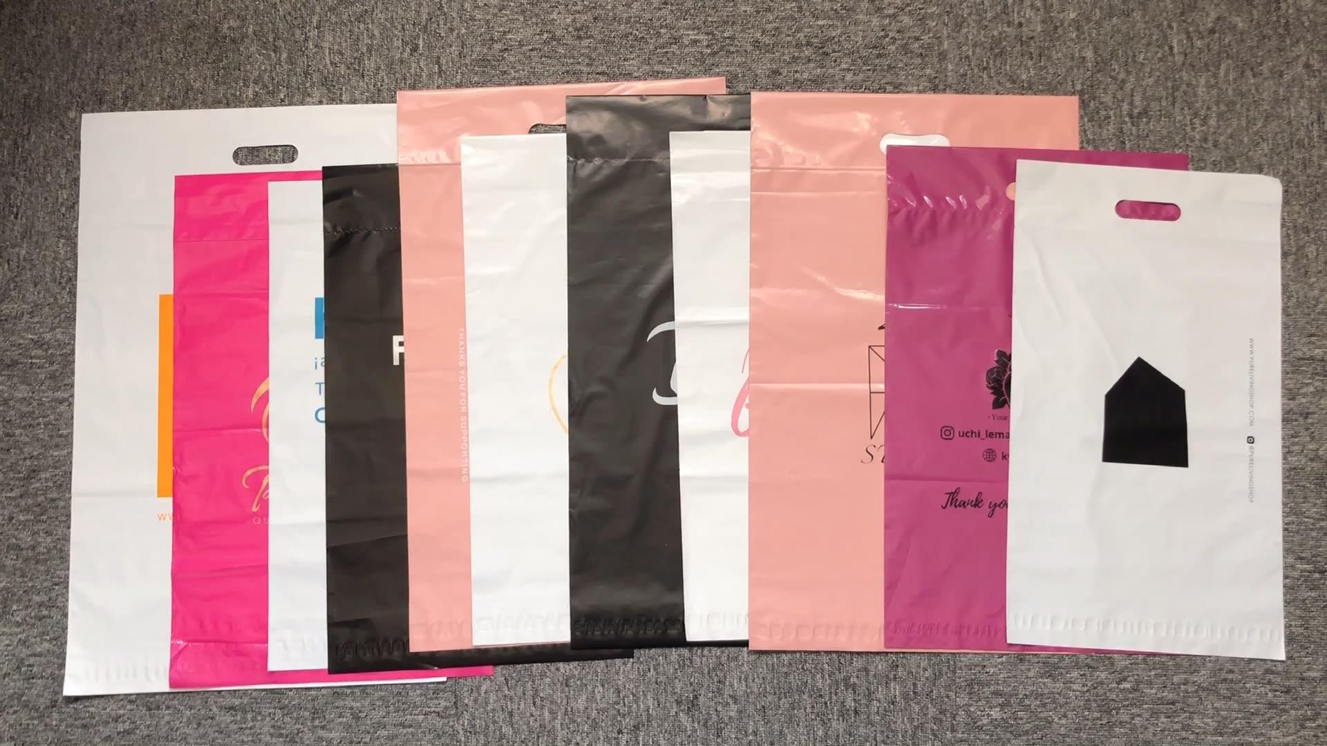 素敵なピンクのメーリングバッグ化粧品用の強力な接着剤クーリエバッグ