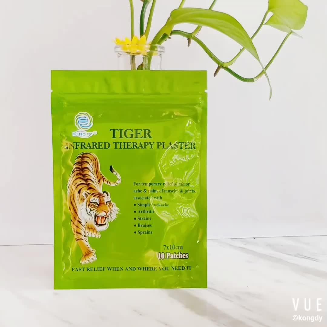 Originale Della Fabbrica Cinese A Base di Erbe Mediche balsamo di tigre cerotto medicato per il sollievo mal di schiena