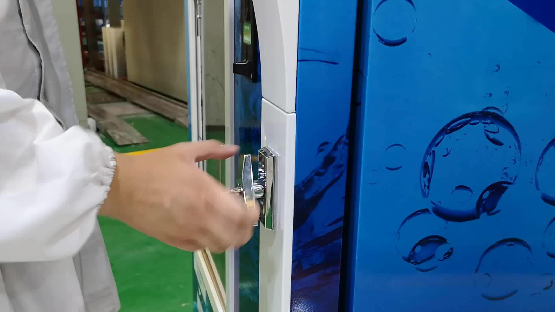 Outdoor 24 h self-service automatische reverse pure gletsjer water automaat