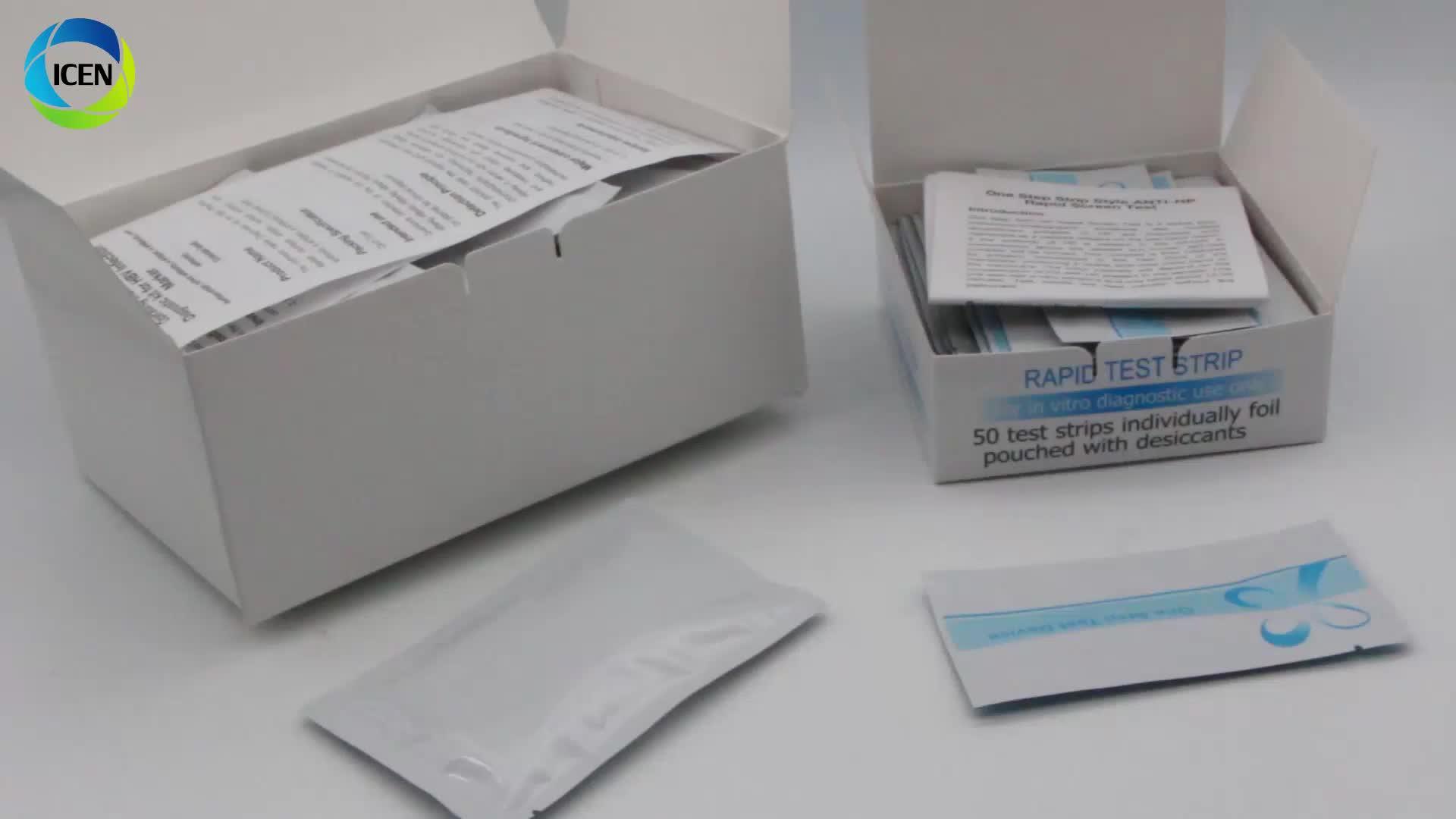 High Specificity Safe HIV Diagnostic Kits One Step HIV Test Device Aids Test Kit