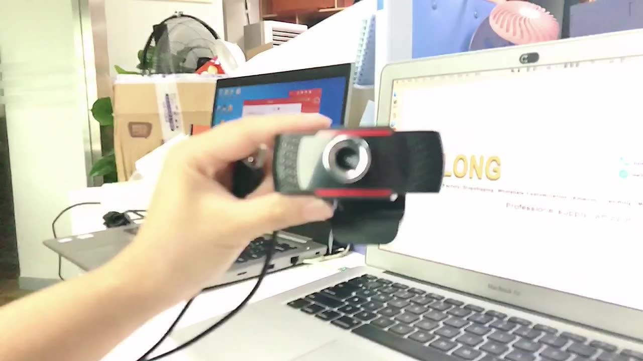 المورد الذهبي الأسهم 1080P هد كاميرا فيديو كاميرا ويب جهاز كمبيوتر شخصي الكاميرا مع ميكروفون ل سكايب للكمبيوتر