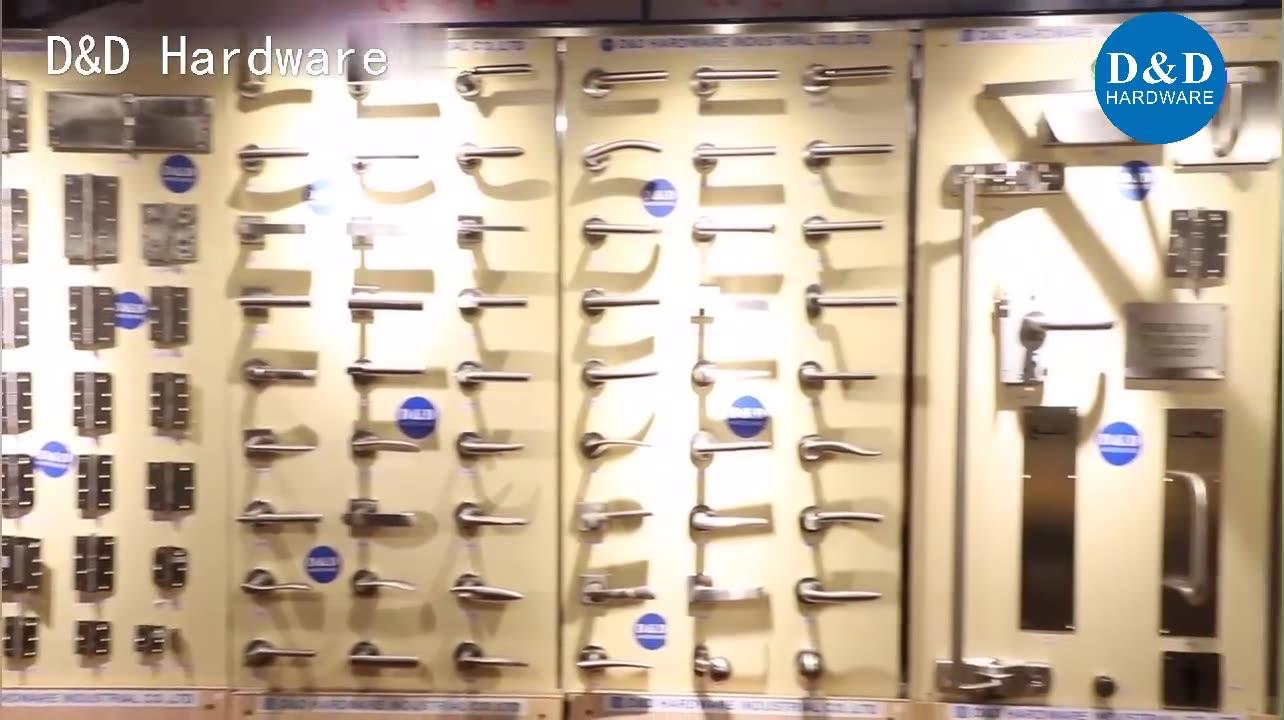 CE EN 1906 สแตนเลสสตีล 304 fire lever handle ล็อคจับไม้ประตูอุปกรณ์เสริม