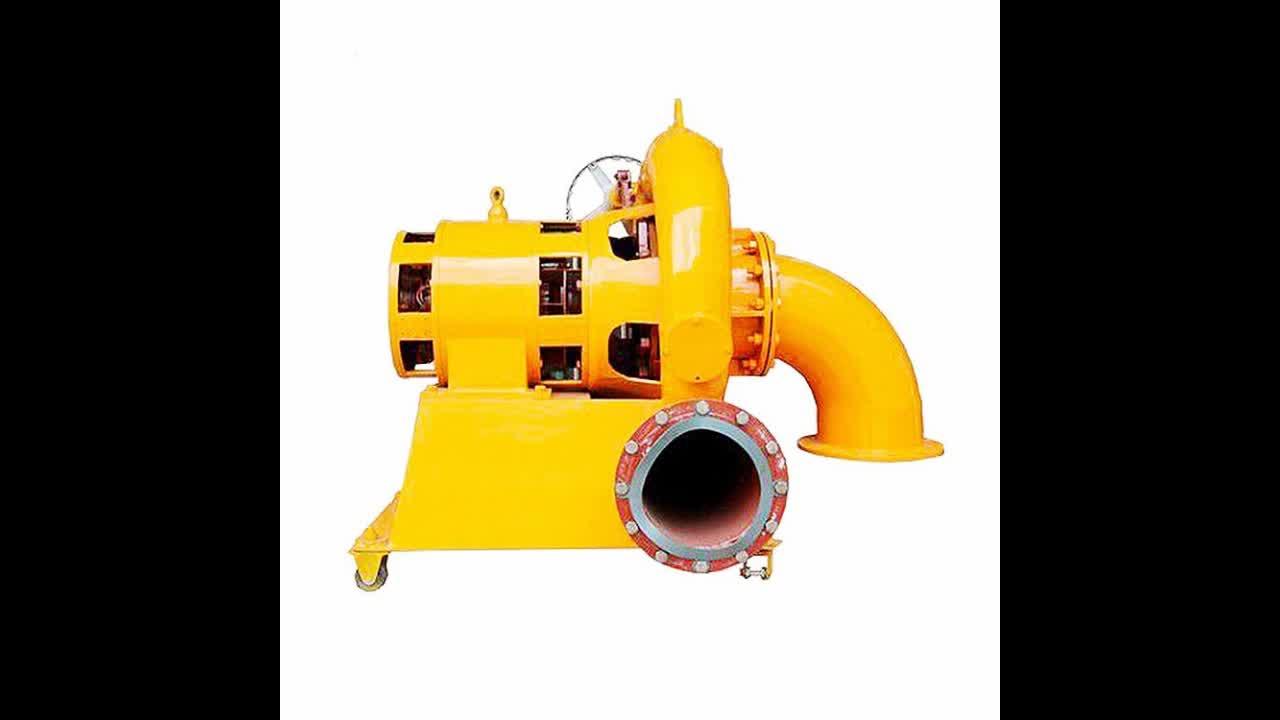 China Top Supplier's Small Hydro Turbine And Micro Water Turbine Generator 5KW