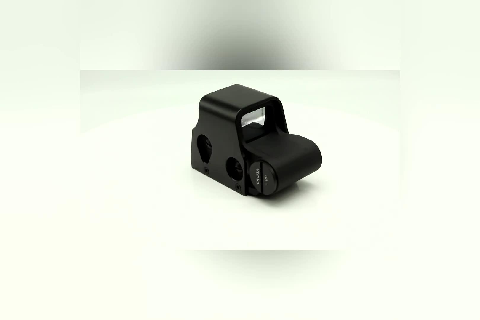 553 Light Adjustable Brightness Mini Holographic Reflex Sight Red Green Dot Sight