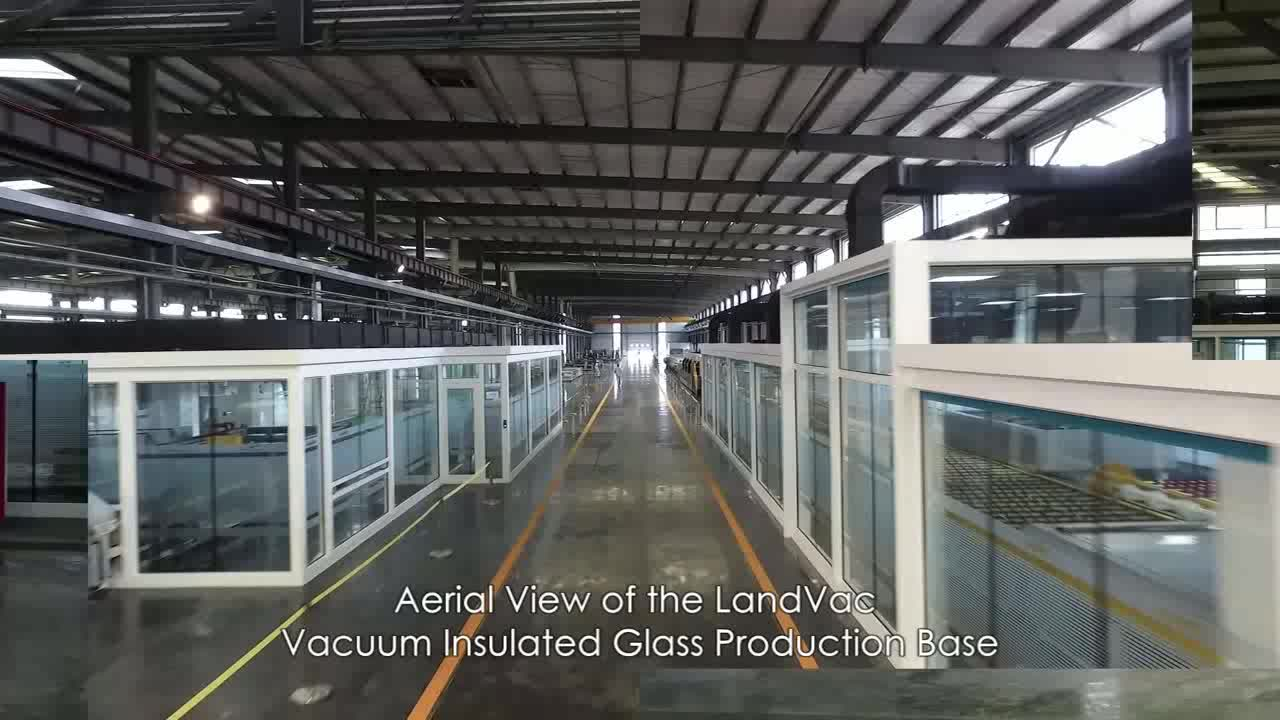 Factory supply clear 20mm vacuum insulated laminated glass for curtain wall