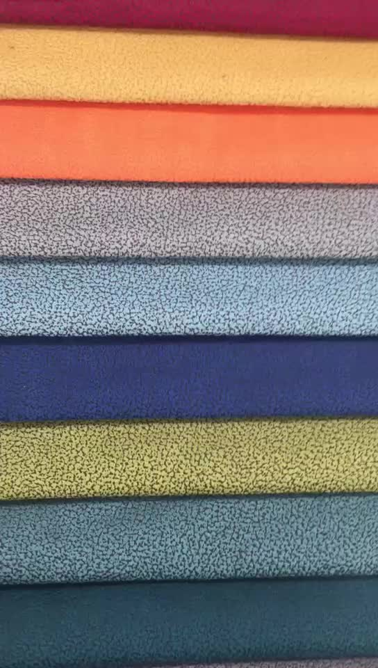 new 100 polyester bronzing and printing designer upholstery knitted fabric