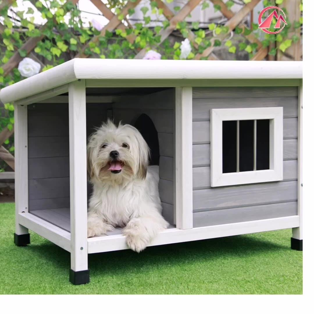 Petsfit Casa Del Cane Outdoorwooden cuccia di Alta qualità Cane all'aperto Canile