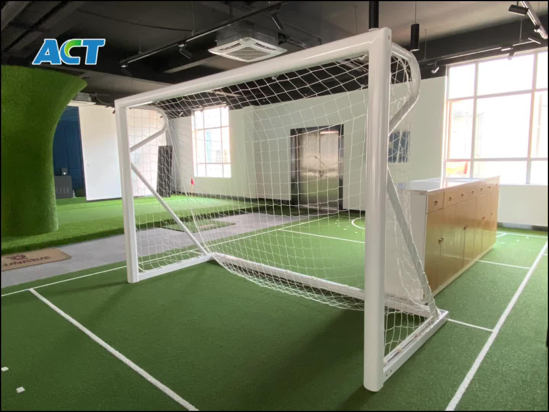 Freestanding 24 'x 8' full size calcio goal post, gol portatile per il sistema di vendita