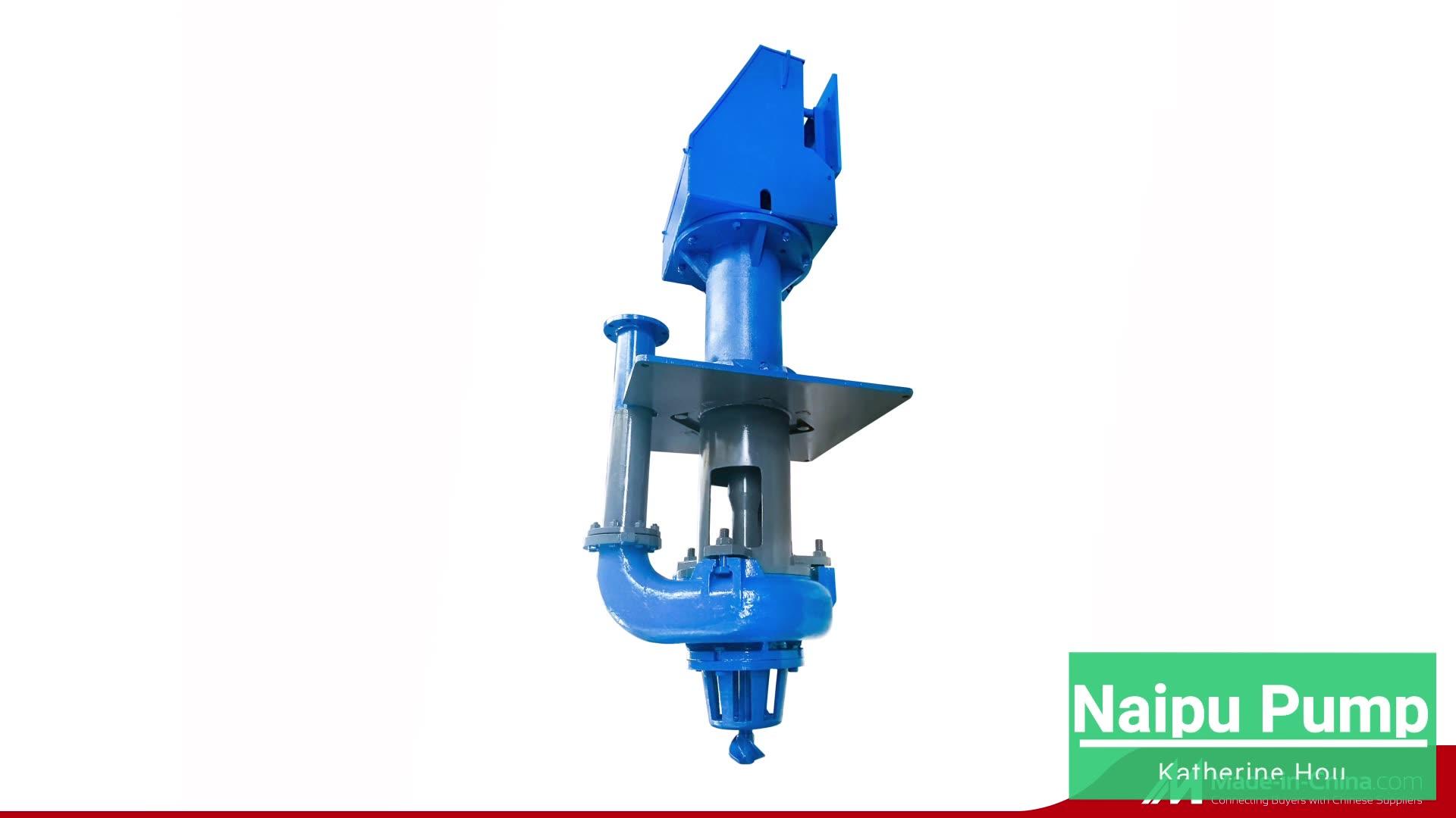 Naipu 100 rv-sp vertical slurry sump pump