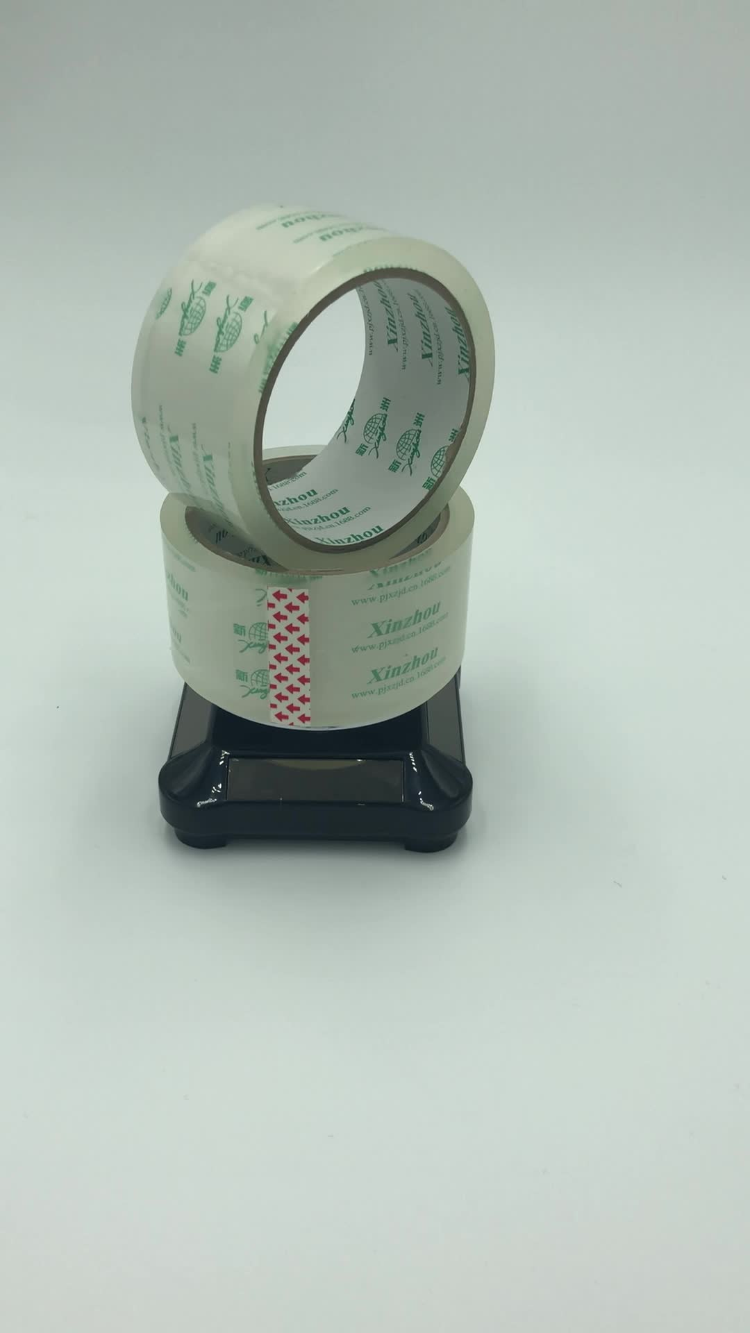 hochwertiges transparentes, transparentes Bopp-Box-Verpackungsband