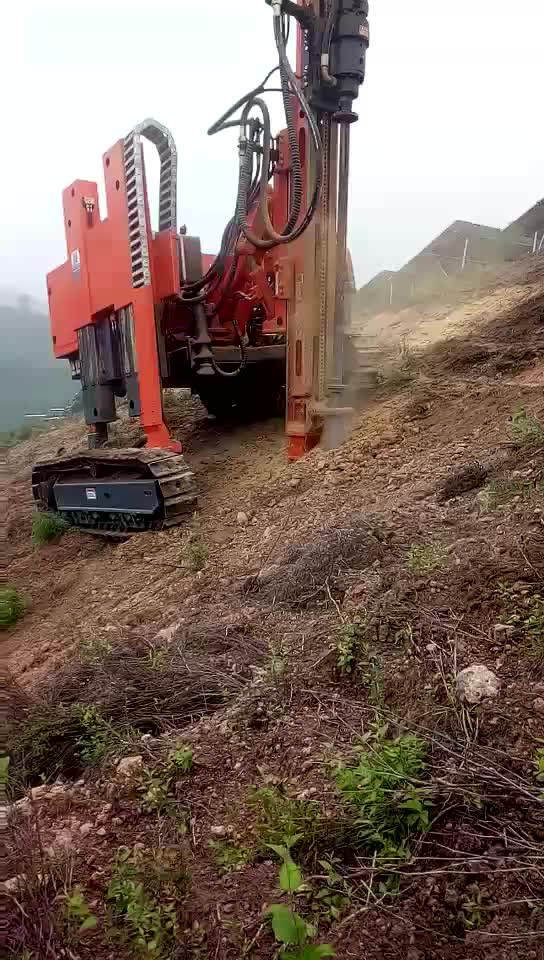 China biggest supplier solar hydraulic soil auger screw piling rig MZ398Y