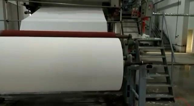 1 T/D маленькая ткань машина для производства бумаги, и маленькое мусорное оборудование для переработки бумаги
