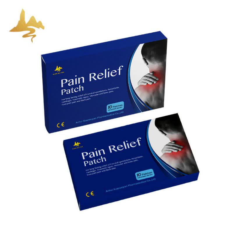 Fast Effective Chinese Herbal Extract Body Rheumatism Pain Relief Patch