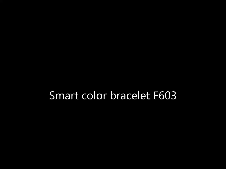 Umarmung F603 Fitness Uhren Pulsmesser Smart Band IP67 Wasserdichte Sport Tracker Armband Für IOS Android