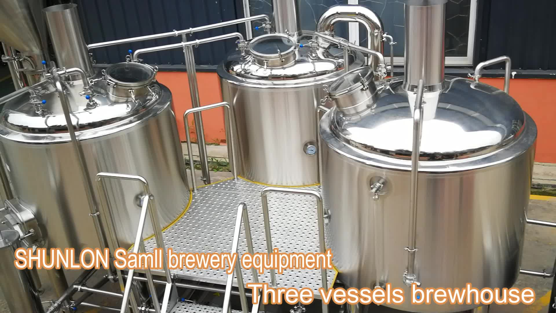 Top quality brewery system SUS304 1000l small beer brewing equipment