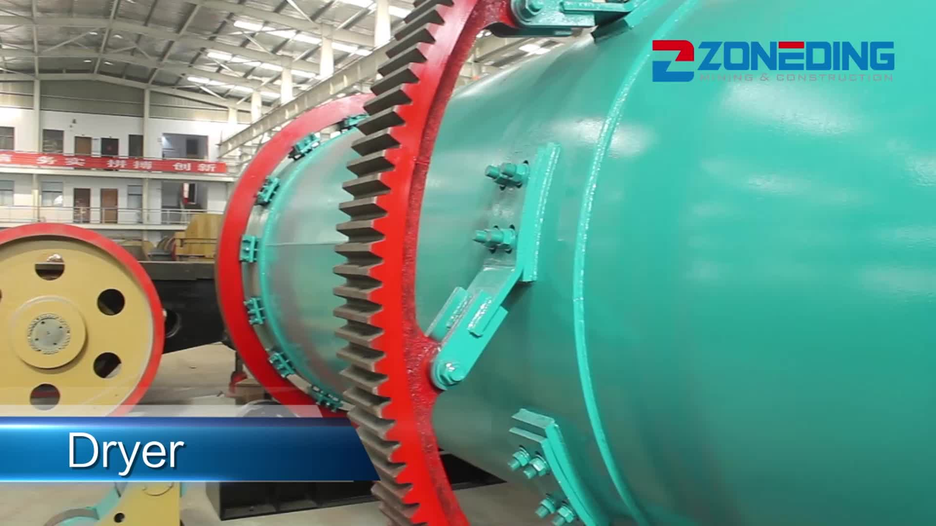 Successful case silica sand rotary dryer machine sand drying machine rotary dryer Thailand