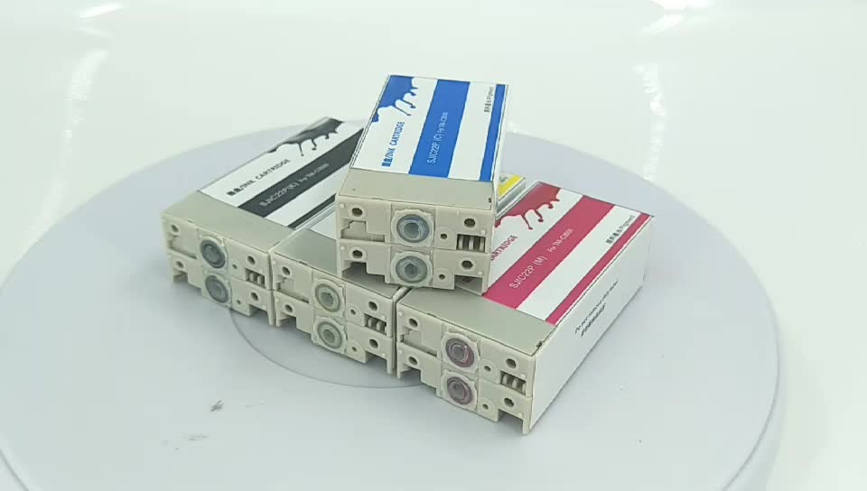 Compatible Epson TMC3520 TMC3510 TM-C3500 TM-C3500 SJIC22P tm c3500 Ink Cartridge SJIC22P Pigment Ink Cartridge
