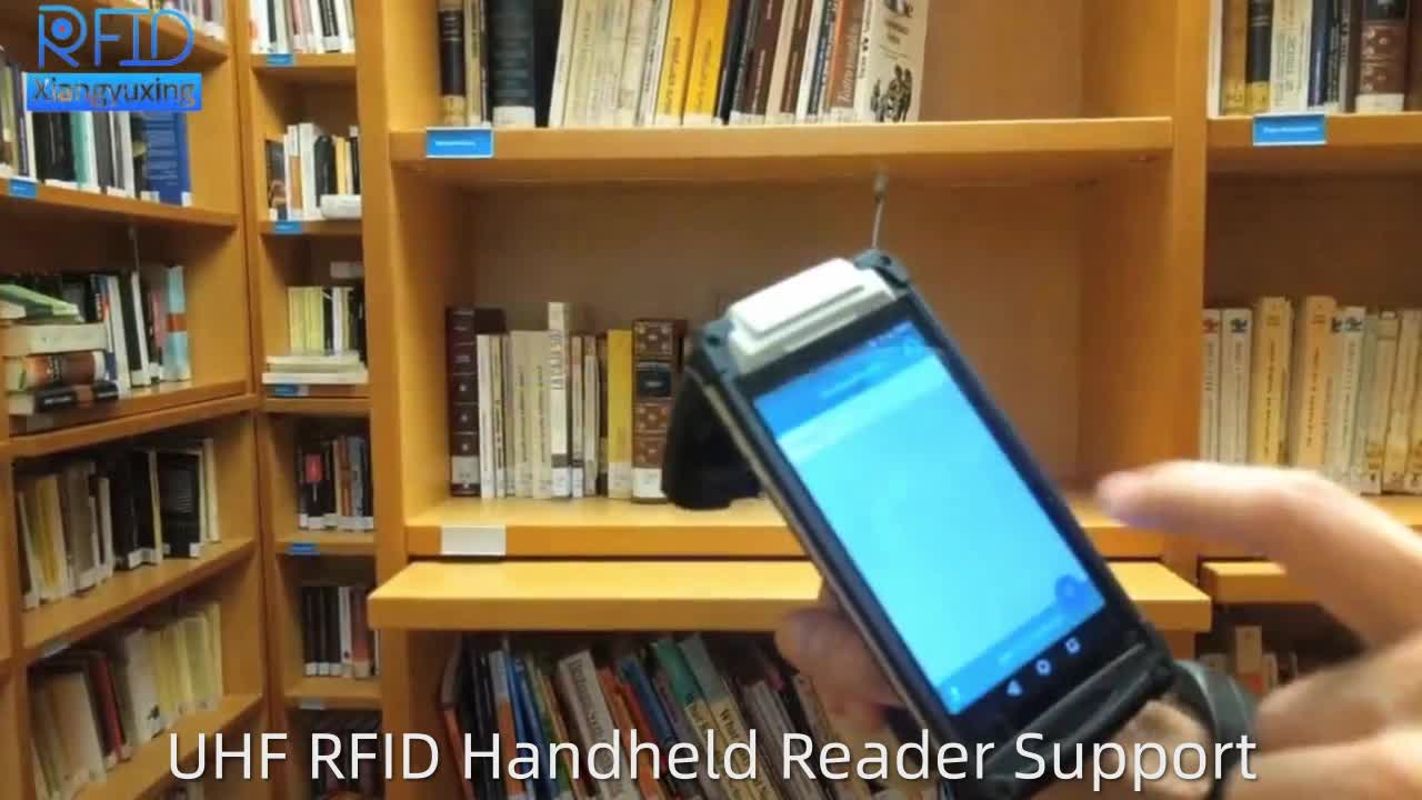 TS601 Android Handheld 1D/2D QR code Bluetooth UHF RFID Reader