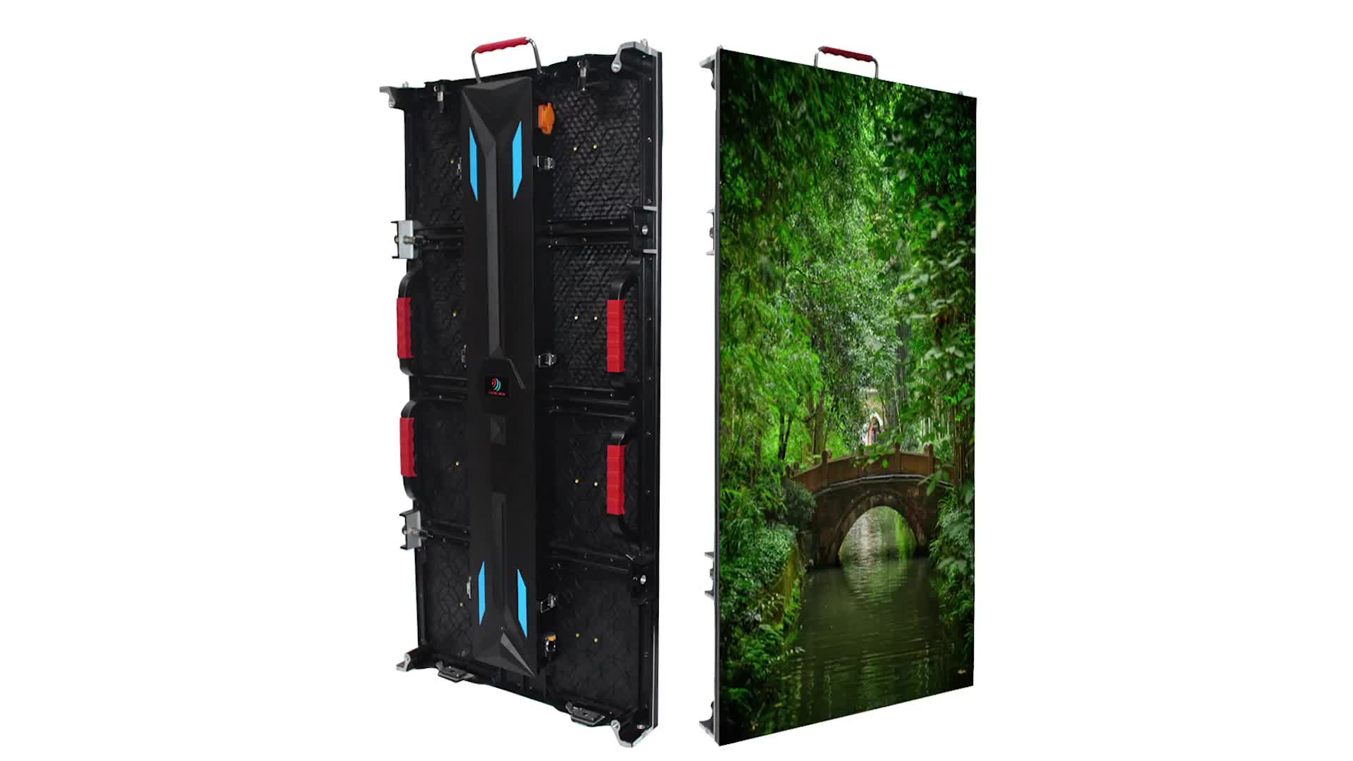 AD P3.91 Outdoor SMD Rental Full Color LED Video Wall 500*1000mm Cabinet Outdoor rental led screen