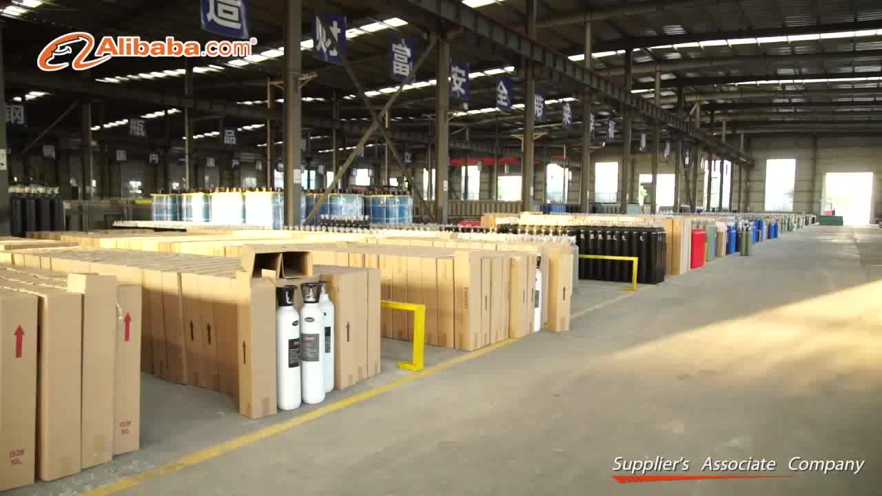 High Quailty 40L/47L/50L Industrial Gas Cylinder Oxygen Cylinder 150bar/200bar/300bar