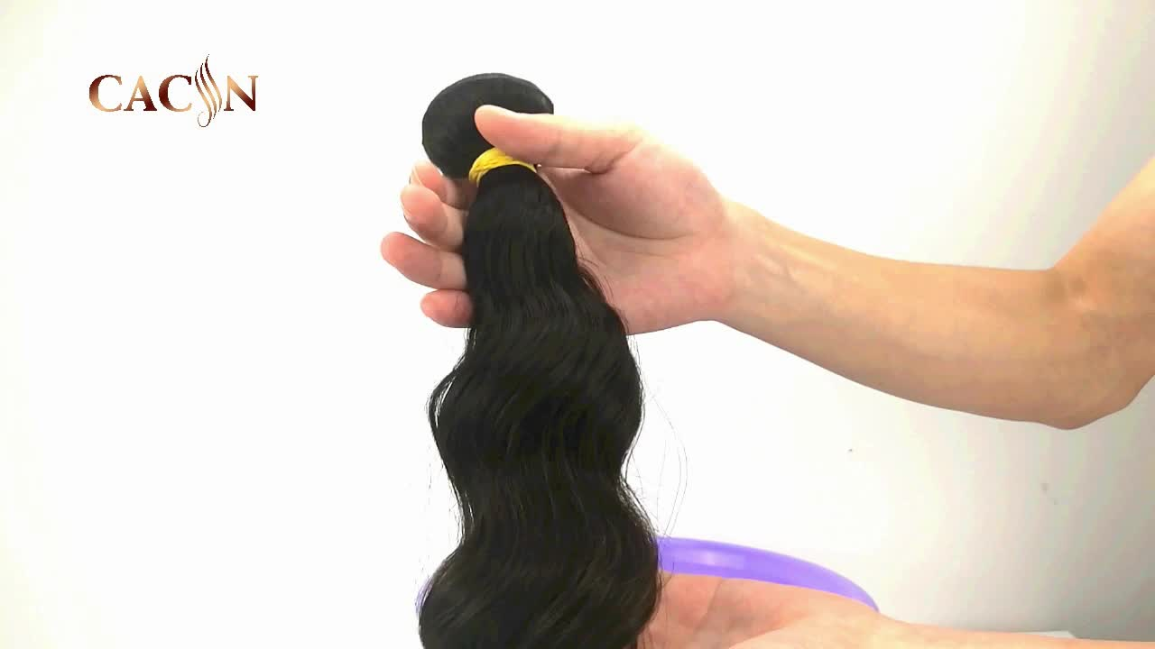 Factory quality virgin remy real human 100% water weave