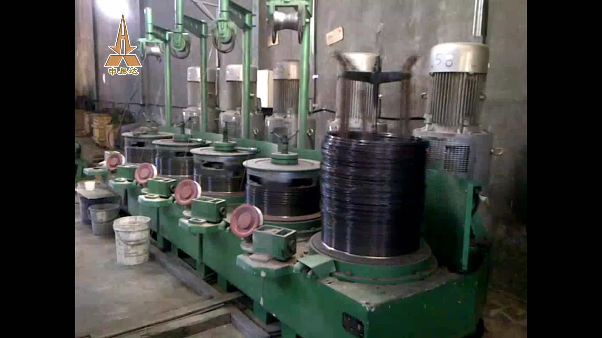 HIgh Quality Steel (nail Making) Wire drawing machine factory