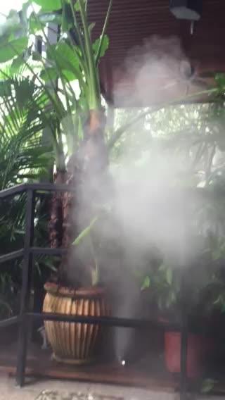Hohe Qualität Terrasse Wasser Spray Kühlung Moskito Beschlagen Systeme